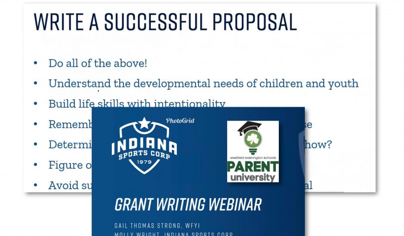 Grant Writing Information Session Picture Preview
