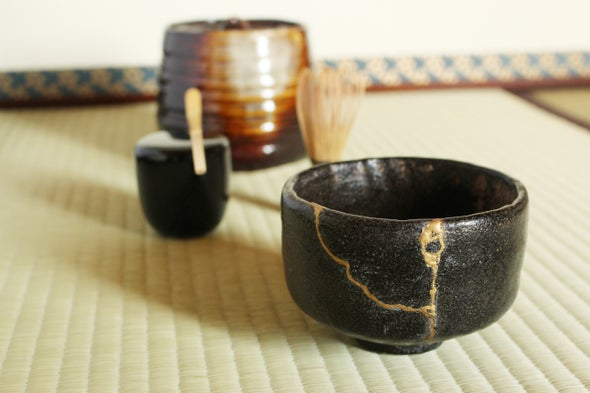 Kintsugi is a centuries-old Japanese art of fixing cracked pottery.
